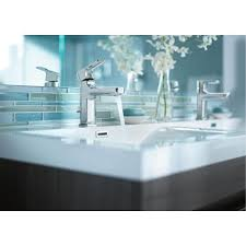moen 6900 rizon one handle low arc bathroom faucet with drain