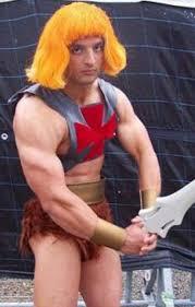 Man Halloween Costume Man Costume Wig Costume Fail