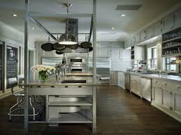 Kitchen Island Pot Rack by Kitchen Pot Rack Over Kitchen Sink Kitchen Island Cooktop