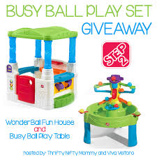 step2 busy ball play table step2 busy ball play set giveaway mommy mafia
