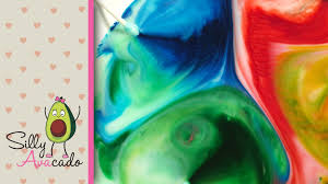 rainbow color changing milk experiment w food coloring u0026 dish