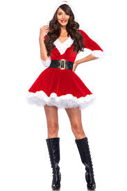 santa costumes velvet v neck hooded santa costume christmas costumes for