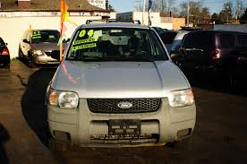 2004 ford escape 4dr silver 4x2 manual suv