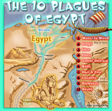 10 plagues egypt kids bible maps