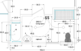 Bathroom Floor Plans Stunning Design 5 Handicap Bathroom Plans Disabled Layout
