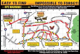 Smoky Mountains Map Smoky Mountain Deer Farm And Exotic Petting Zoo Find Us