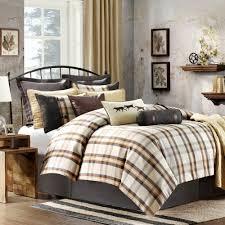 woolrich oak harbor plaid 7 piece king comforter set woolrich