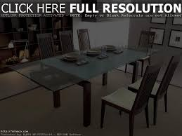 Glass Dining Table 4 Chairs Dining Tables Rectangular Square Glass Dining Table Glass Top