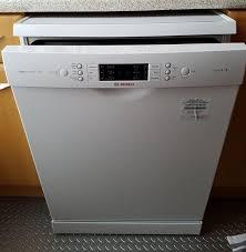 Bosh Dishwasher Manual Activewater Dishwasher 60cm Freestanding Serie 6 Sms69m12gb