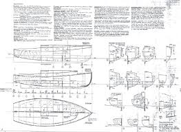 Free Wooden Boat Design Plans by Bever