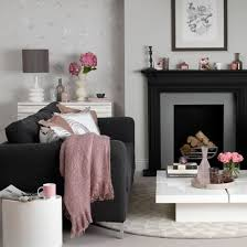 Pink Living Room Ideas Enjoy Dramatic Design At Home By Decorating With Darker Colours