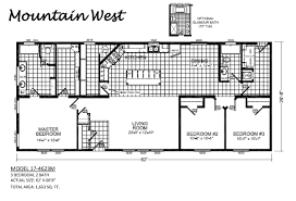 champion manufactured homes floor plans mountain west 17 4623m by champion homes