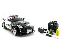 remote control police car with lights and siren 350z police 1 14 rtr electric rc car