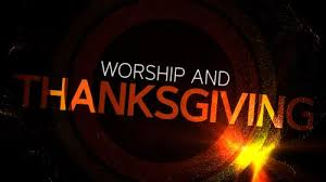 church illustration worship and thanksgiving