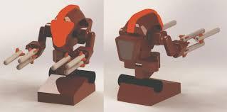 Desk Defender Robot