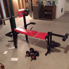 Weight Set With Bench For Sale Find More Weider Bench And Weight Set For Sale At Up To 90 Off
