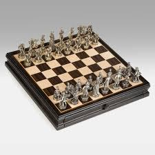 theme chess sets 3d egyptian polystone chess set hayneedle