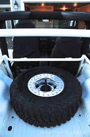 jeep tire carrier jeep tj inner tire carrier 97 06 wrangler tj lj tnt customs jeep
