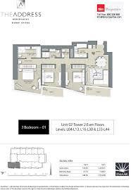 floor plans the address residences dubai opera dubai opera