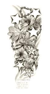flowers composition sleeve 3d designs