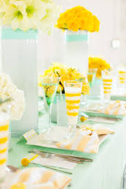 mint and yellow wedding yellow weddings weddings and yellow