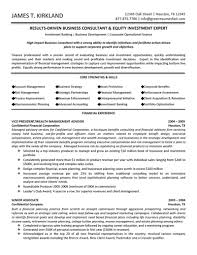 Consulting Resume Example Management Consulting Resume Berathen Com