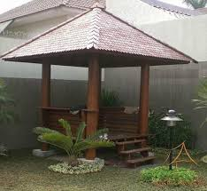 Wooden Pergolas For Sale by Wooden Gazebos For Sale To Increase A Warmly Natural Look Of Home