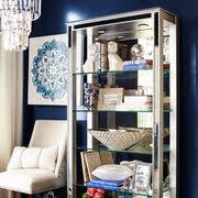 Silver Bookshelf Hayworth Mirrored Silver Tall Bookshelf Pier 1 Imports