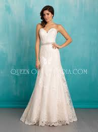 sweetheart wedding dresses strapless ivory lace a line sweetheart classic wedding