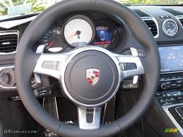 porsche steering wheel 2013 porsche boxster s black steering wheel photo 67352330