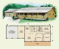 log home floor plans with garage leland log home floor plan