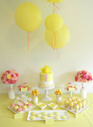 Pink And Yellow Birthday Decorations Best 25 Yellow Party Themes Ideas On Pinterest Yellow Birthday