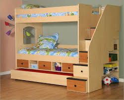 Diy Loft Bed With Stairs Plans by Diy Bunk Bed Plans Bunk Bed Set With A Trundle Bed Drawers Below
