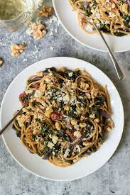 recipes with pasta kale pasta with walnuts and parmesan