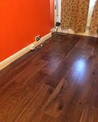 Walnut Laminate Flooring Uk Black American Walnut Wood London Stock Super Engineered Flooring