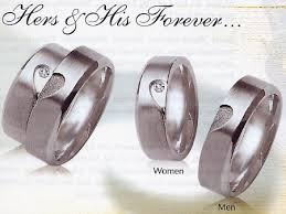 matching wedding bands his and hers product detail