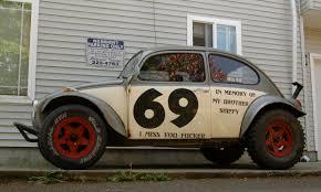 baja buggy 4x4 old parked cars 1970 volkswagen beetle baja bug