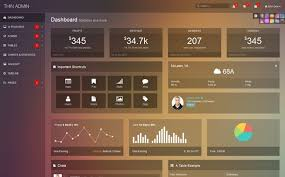17 conquer responsive admin dashboard template discussion on