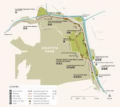 griffith park map anza trail traverses griffith park