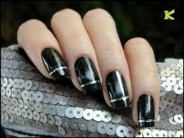 silver rolls striping tape line nail art decoration sticker kkcenterhk