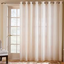 Curtains For Sliding Door Thermavoile Grommet Top Curtain Pair