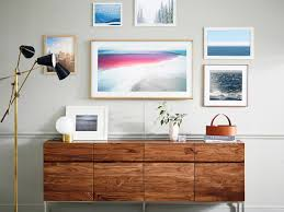 Frameless Photo Samsung U0027s U0027the Frame U0027 By Yves Behar Is Half Tv Half Art
