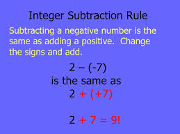 adding subtracting integers