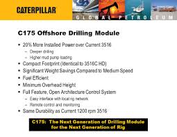 offshore drilling c j chuck griffith product definition manager