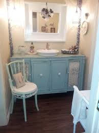 shabby chic bathrooms on a budget rectangle long modern wall