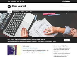 clean journal u2014 free wordpress themes