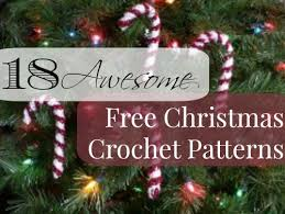 18 awesome free christmas crochet patterns allfreecrochet com