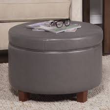 Large Leather Storage Ottoman Coffee Table by Sofa Small Ottoman Tufted Ottoman Coffee Table Cowhide Ottoman