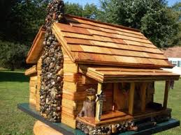 Free Woodworking Plans For Your Home And Yard by Rustic Bird Houses
