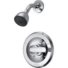 Lowes Shower Head Shop Delta Classic Chrome 1 Handle Watersense Shower Faucet With